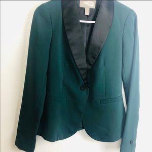 Forever 21   forest green blazer